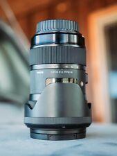 New listing Sigma 18-35 f/1.8