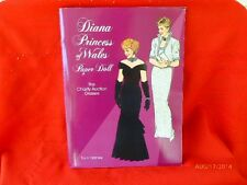 Paper Doll Book Diana Princess Of Wales The Charity Auction Dresses Uncut