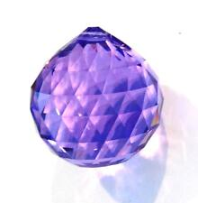 30mm Swarovski Strass Blue Violet Crystal Ball Prisms Logo Wholesale 8558-30 Cci