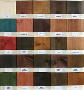 INTERIOR SOLVENT FREE WOOD STAIN - ODOUR FREE - EASY USE WOOD STAIN DYE