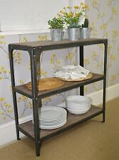 Shelving Unit, Pewter colour finish, no assembly required