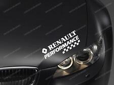 Renault rendimiento Adhesivo para Capó Megan Scenic Clio RS Kadjar Espace