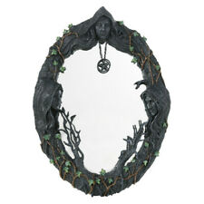 MOTHER MAIDEN CRONE Wall Mirror Hanging Decor Gothic goth pagan witch wicca