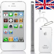 Apple iPhone 4S 16GB White Unlocked Sim Free Worldwide Smartphone Next Day!