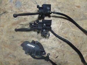 Bremsanlage Bremse komplett für Honda FES 125 Pantheon (Typ JF05)