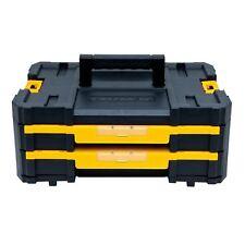 DEWALT DWST17804 TSTAK IV Tool Box Case with 2 Shallow Drawers(16.5 lb capacity)