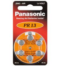 Hilfsmittel Hörhilfen 6 X Knopfzelle Zink-luft Panasonic Pr10 Pr536 Pr230l Hörgeräte-zellen Blister