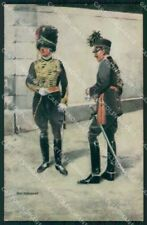 Military Soldiers Royal Dutch Army Van Oorschot 20 cartolina XF9184