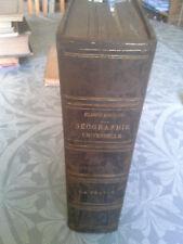 RECLUS, nouvelle géographie universelle, T2 ,la France Hachette 1885