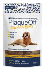 Plaque off animal dental morsures med/lg chiens 150g. service premium, envoi rapide