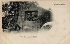 CPA  Fontainebleau -Th. Rousseau & Millet (248711)