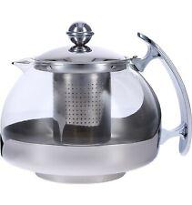 Hitzebeständiger Glasteekannen-Tee-Glashersteller-Tee-Kessel mit Filter-Infuser