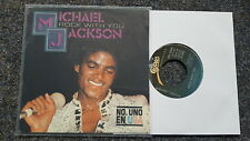 Michael Jackson - Rock with you/ Working day and night 7'' Single SPAIN
