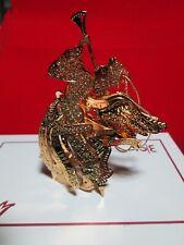 Danbury Mint Millennium Angel Gold Christmas Ornament In Box