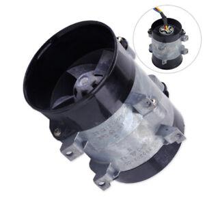 16.5A Car Auto Electric Turbine Power Turbo Charger Tan Boost Air Intake Fan