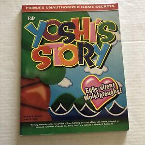 Yoshi's Story Prima's Unauthorized Game Secrets Strategy Guide Nintendo 1997