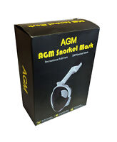 AGM Snorkel Mask with Action Cam Mount for GoPro
