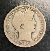 1900-O Barber Half Dollar Good C-945