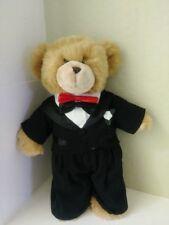 Build A Bear Work Teddy In Groom Wedding Tuxedo