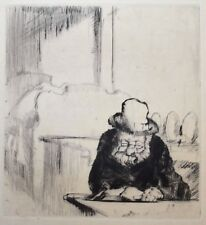 Frank William Brangwyn RA RWS RBA (1867-1956) Seated figure. 1931