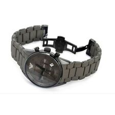 Imported Emporio Armani Ar5950 Full Grey Look Sportivo Chrono Mens Watch