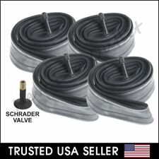 """4 x 26"""" inch Inner Bike Tube 26 x 1.75 - 2.125 Bicycle Rubber Tire Interior BMX"""