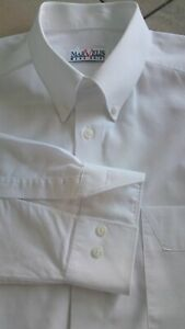 MARVELIS Herren Hemd Gr.43 Weiß Langarm Baumwolle TOP ZUSTAND