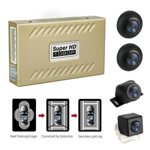 1080P HD Night View DVR Bird View Panoramic System Waterproof Wide Angle Cam
