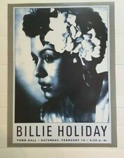Billie Holiday Jazz Vintage Print Music 18X24 Classic Art New Poster