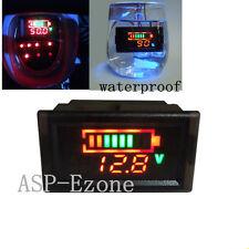 24V Digital Voltmeter For 7pcs Lithium Battery Power Level Indicator Anti-water