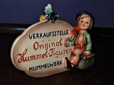 Hummel 205 German Dealer Plaque Trademark 1 Very Rare Incised Crown Goebel