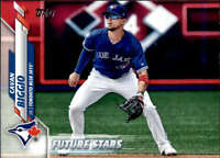 2020 Topps #327 Cavan Biggio Toronto Blue Jays Future Stars Baseball Card