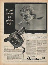 Publicité  camera beaulieu R8