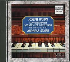 ANDREAS STAIER HAYDN Sonates  Piano Forte Vol 2  HobXVI/35-39 & 20 CD 1993