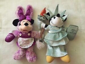 Two Minnie Mouse Plush