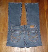 Womens Jeans Size 1/2 Short - Aeropostale Hailey LR Skinny Flare Distressed Str