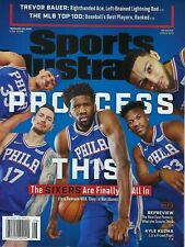 February 25, 2019 Joel Embiid Ben Simmons + 76ers Sports Illustrated NO LABEL