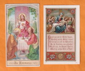 2 Andachtsbilder mit Jesus - sehr schön!