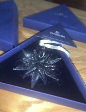 2011 Nib Swarovski Annual Little Christmas Ornament Star/Snowflake