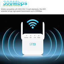 Us Wireless Wifi Repeater 300Mbps Network Extender Signal Amplifier Antenna