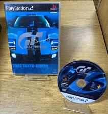 Gran Turismo Gt Concept 2002 Tokyo Geneva PlayStation 2 Ps2 Ntsc-J Asian