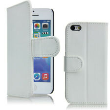Flip wallet case hoesje voor iPhone 5c - wit