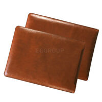 """For 13"""" 13.3"""" Laptop Tablet Dark Brown Universal Leather Sleeve Bag Cover Case"""