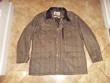BARBOUR Impermeabile Traspirante Uomo Giacca in Tweed TIRO Sapper, Cappotto Taglia XL