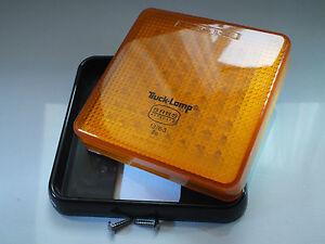 125mm Super-Bright Amber LED Sealed Single Function Truck Lights (Multi-Voltage)