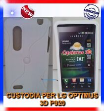 Pellicola+Custodia EYE/BIANCA per LG OPTIMUS 3D P920