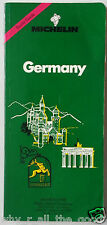 MICHELIN Green Guide - GERMANY - No.1 in Tourist Travel Books - 1993 Edition