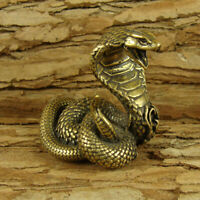 Brass Snake Figurines Snake Statue Home Office Ornament Animals Figurines Toys