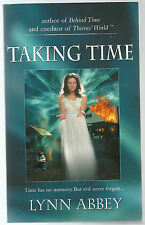 """Taking Time"" Brand New-Signed Lynn Abbey-Emma Merrigan Fantasy adventure sserie"