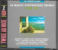 STAR INC. - 40 Magic Synthesizer Themes (2 CD BOX) 40TR Holland 1989 (LASER)